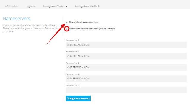 mengatasi freenom DNS, zone is not active yet