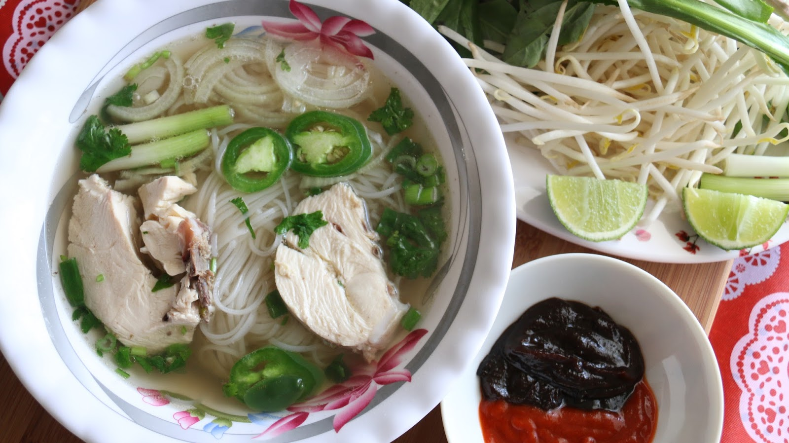 Boriville: Pho Ga (Vietnamese Chicken Noodle Soup)