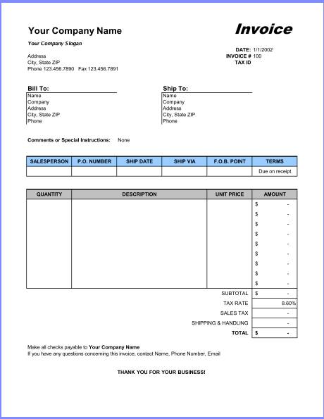 word invoice template excel basic invoice template invoice template