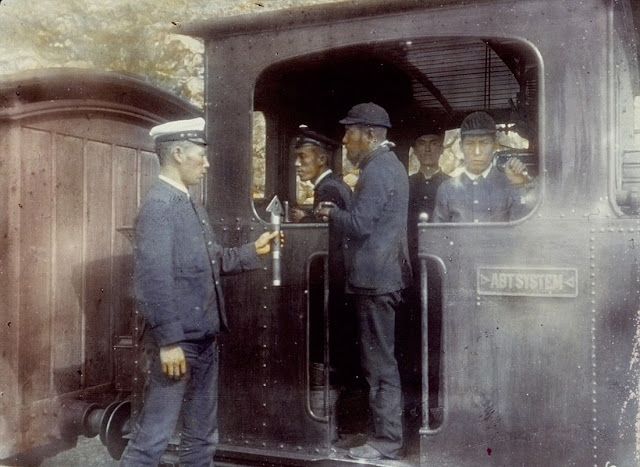 Tàu hỏa nhật bản năm 1894