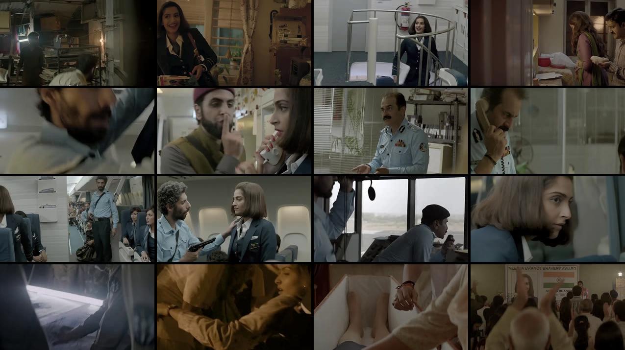 Neerja (2016) Hindi Movie Free Download HD 720p
