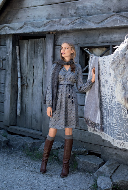 Burda dergisi Kasım 2016 elbise