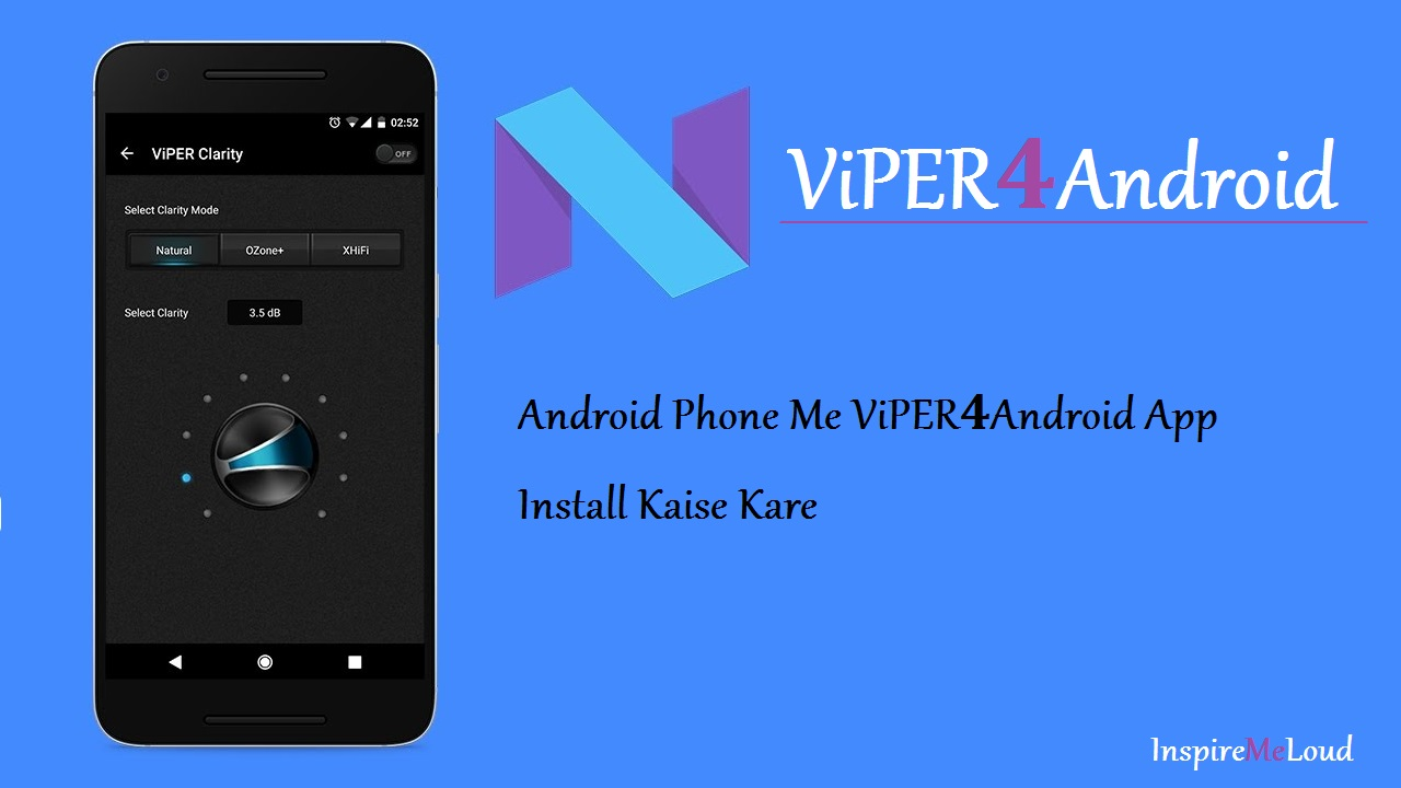 Android Phone Me ViPER4Android App Install Kaise kare