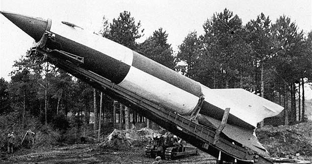 """The V-2 Rocket """"Vergeltungswaffe"""" The First Rocket In The ..."""