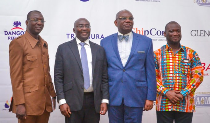 Our Vision Is To Make Ghana A Petroleum Hub– Vice President Bawumia