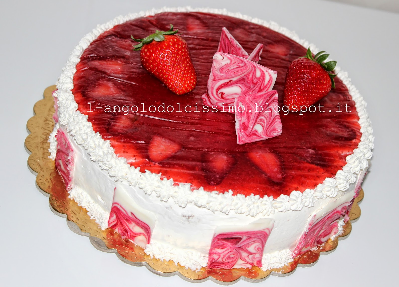 Bagna Per Torta Alle Fragole L 39 Angolo Dolcissimo Torta Pannosa Alle Fragole