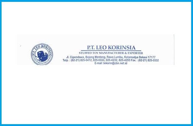 Loker Terbaru Lulusan SMP di PT.LEO KORINSIA Bekasi Jawa Barat