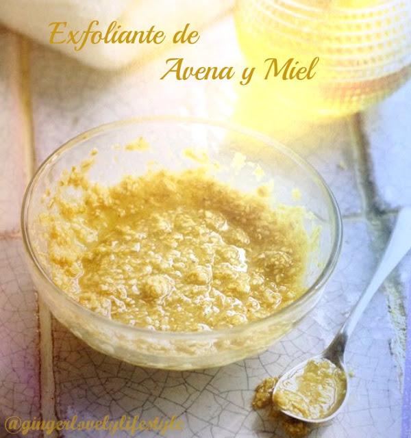Cosm�tica Natural: Exfoliante de Avena y Miel