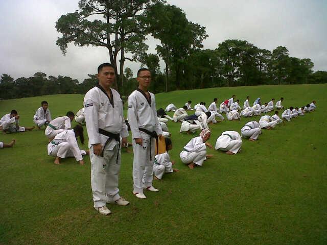 Taekwondo PALI Siap Hadapi Popda