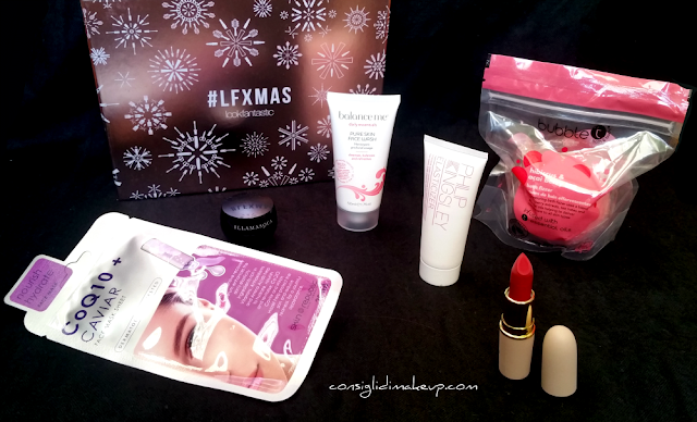 Lookfantastic Beauty Box Dicembre 2016 - the #LFXMAS edition