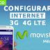 Configurar Internet APN 3G/4G LTE Movistar México 2018