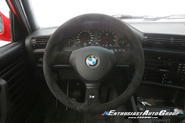 Interior BMW M3 Sport Evolution