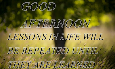 good afternoon phrases