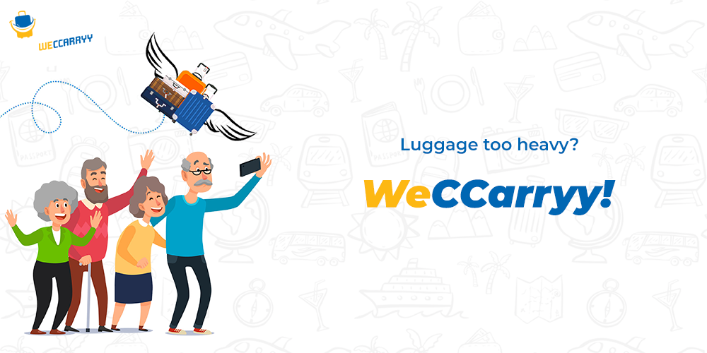 Avoid carrying heavy luggage - WeCcarryy
