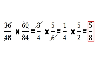 Cara Sederhana Mengalikan Berbagai Bentuk Pecahan Pada Matematika Sd Lima Klik