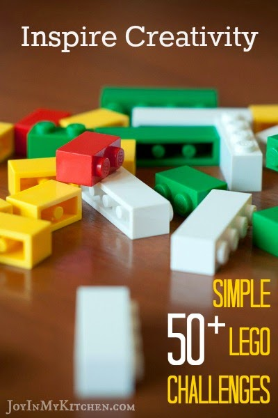 50+ Simple Lego Challenges from Joy in my Kitchen