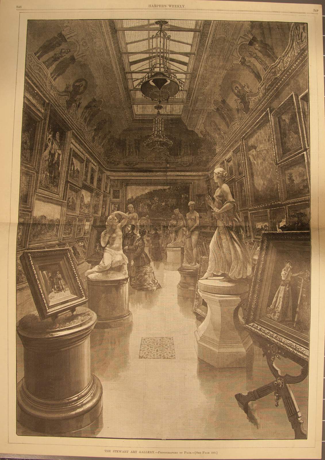 The Gilded Tarot Images On: The Gilded Age Era: William C. Whitney Mansion New York City