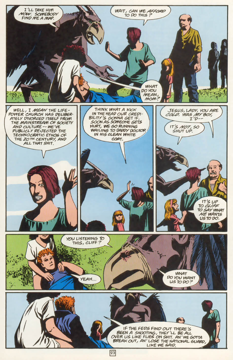 Read online Animal Man (1988) comic -  Issue #77 - 24