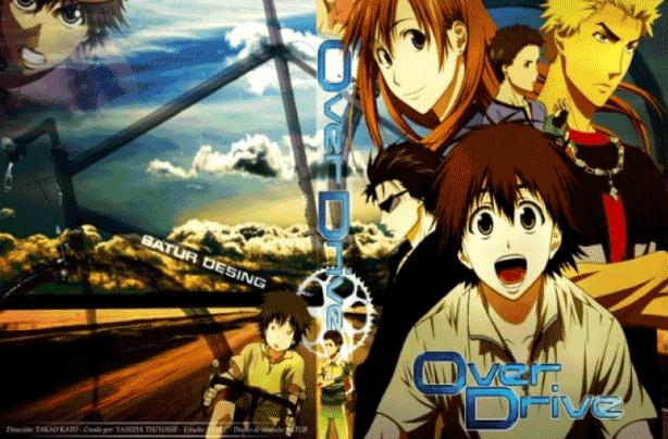 Over Drive - Daftar Anime Sport terbaik Sepanjang Masa