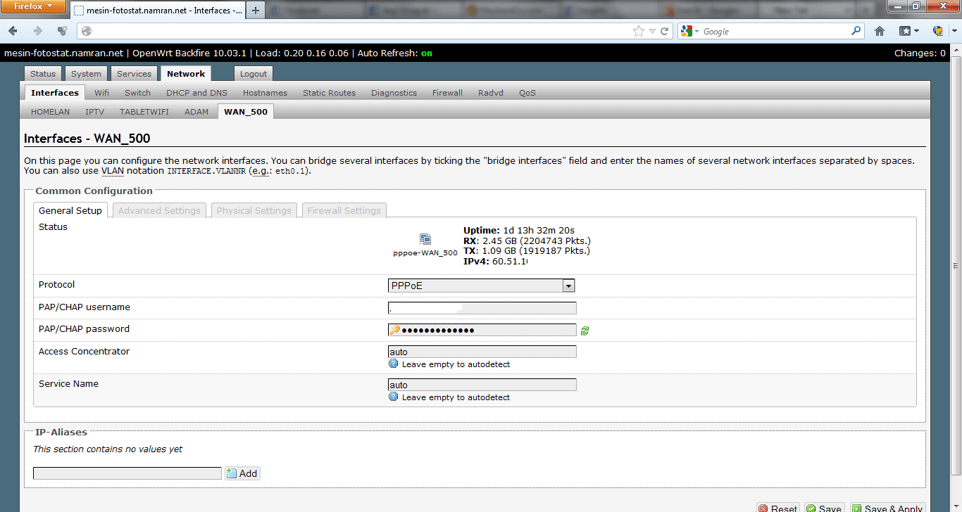 How-To Setup OpenWRT VLAN for TM Unifi