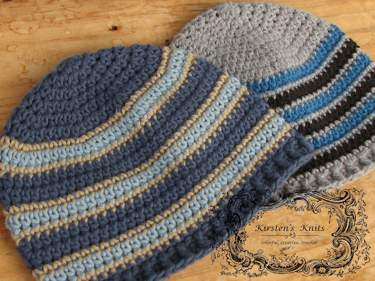 Seeing Stripes, Men's Beanies for Charity