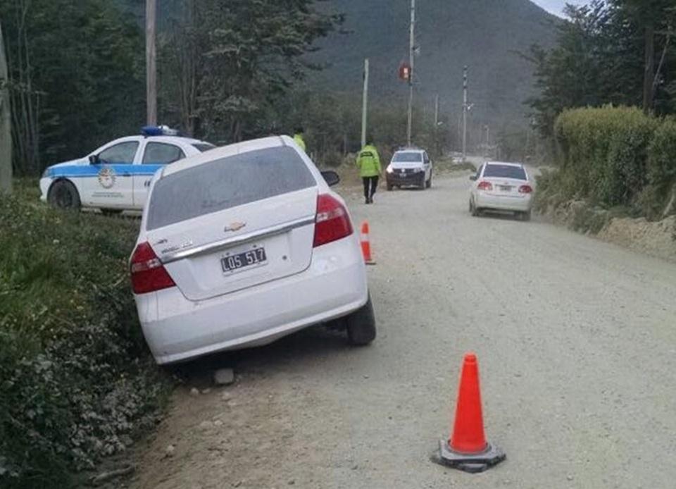 Conductor despistado en Andorra
