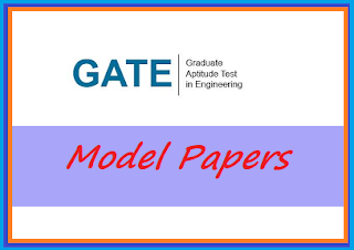 GATE 2019 Model papers – Sample papers Branch wise PDF download