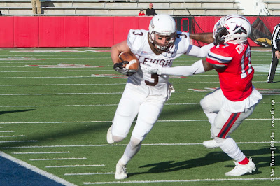 Pelletier, Casey, Mayes, And Lehigh Offense Put On A Show In 59-29 Loss To Stony Brook