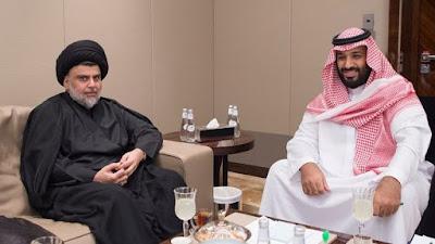 Saudi Crown Prince Mohammed bin Salman Meets Iraq's Moqtada Al Sadr In Jedda