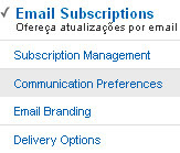 subscrever por email no feedburner