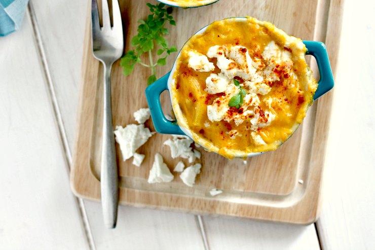 Sweet Potato, Feta and Smoked Paprika Macaroni Cheese