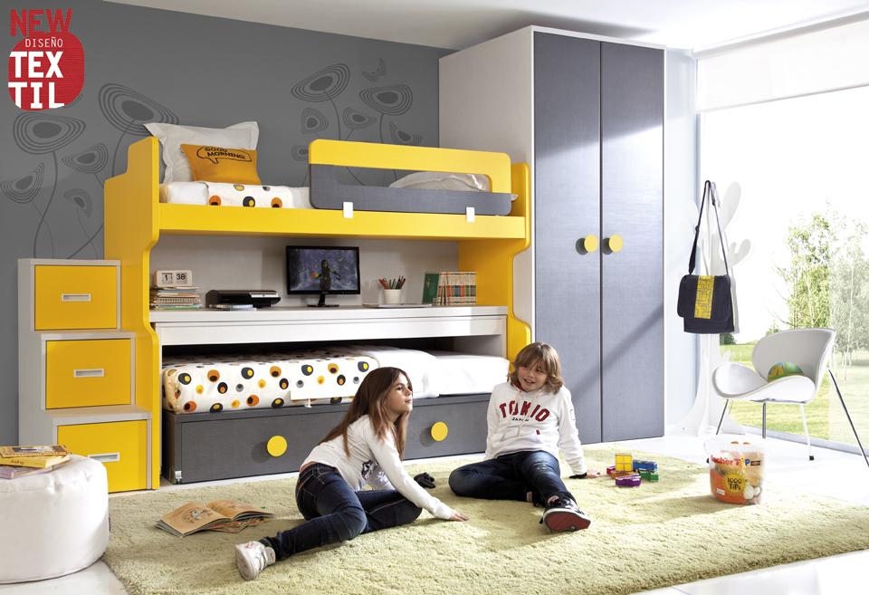 Dormitorios juveniles economicos - Habitaciones juveniles muebles rey ...