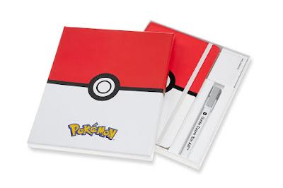 "Edición Limitada de Moleskine de ""Pokémon"""