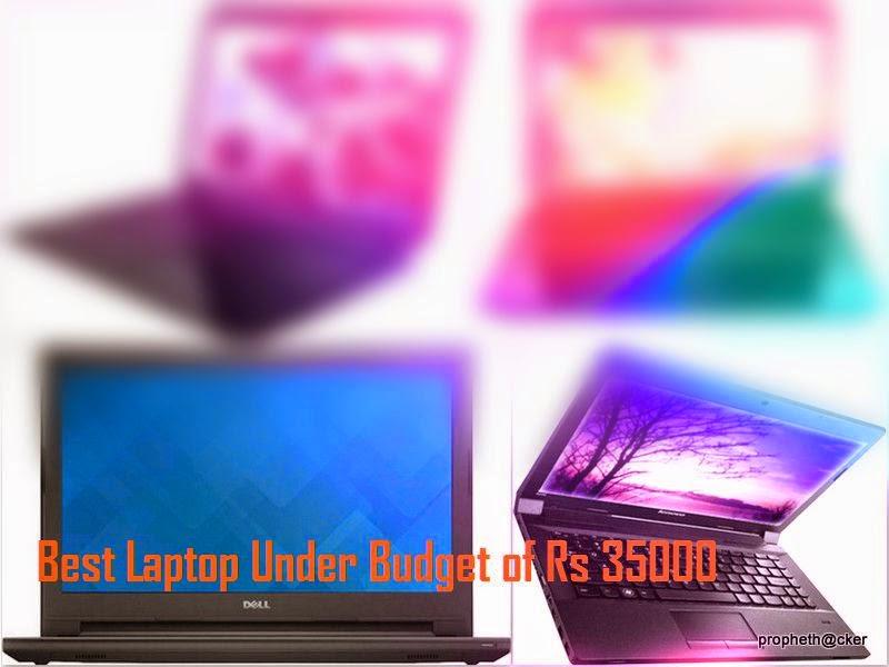 Best Top 5 Laptop Under Budget 35000