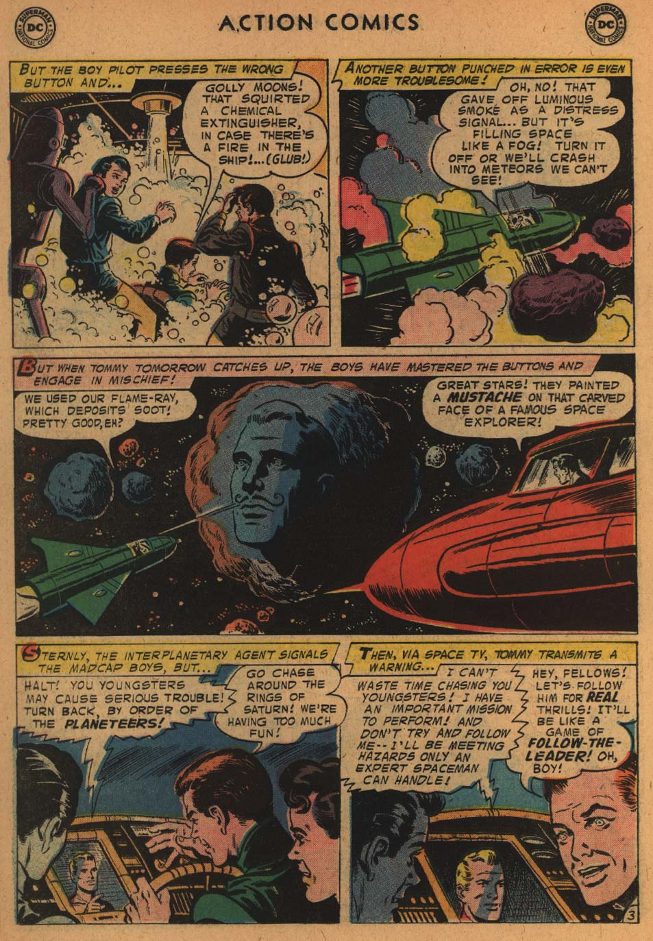 Read online Action Comics (1938) comic -  Issue #235 - 22