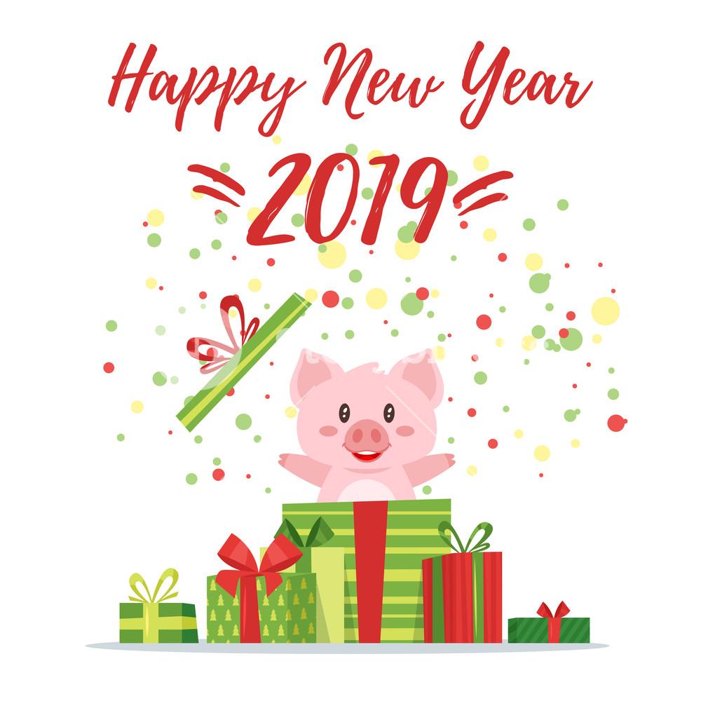năm mới 2019 ai tuổi hợi thì cùng mở quà nào chúc mọi người năm mới an lành