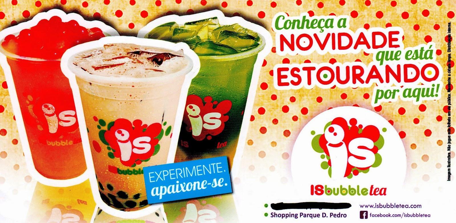 Bubble Tea em Campinas
