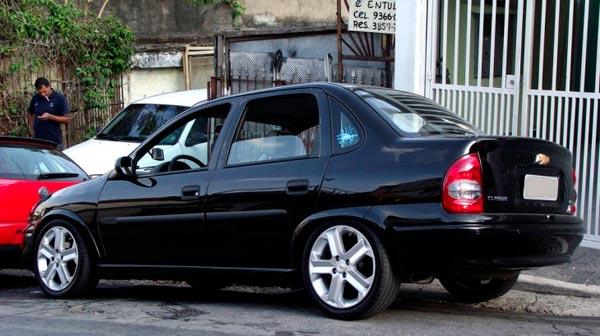 Corsa Sedan Rebaixado Only Cars Carros Rebaixados