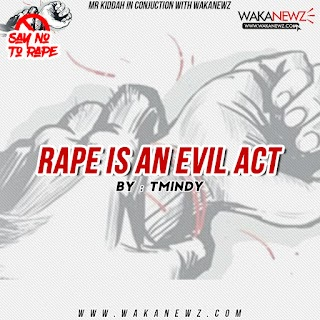 RAPE IS AN EVIL ACT (by TMINDY)