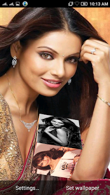 Bipasha Basu 3D live Wallpaper For Android Mobile Phone