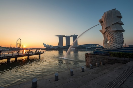Merlion Park, Singapura