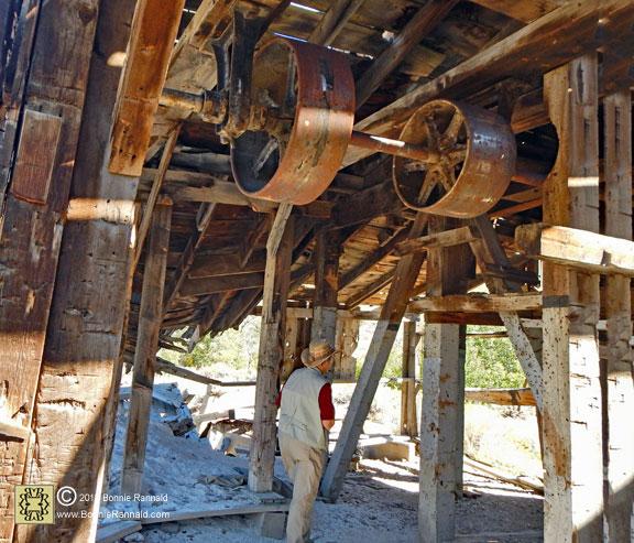 Exploring inside the Chemung Mill, Bonnie Rannald Photography