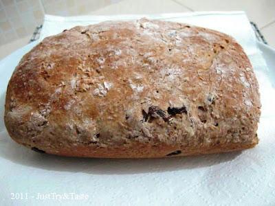 Resep Wheat Bran Bread - Roti Dari Wheat Bran JTT