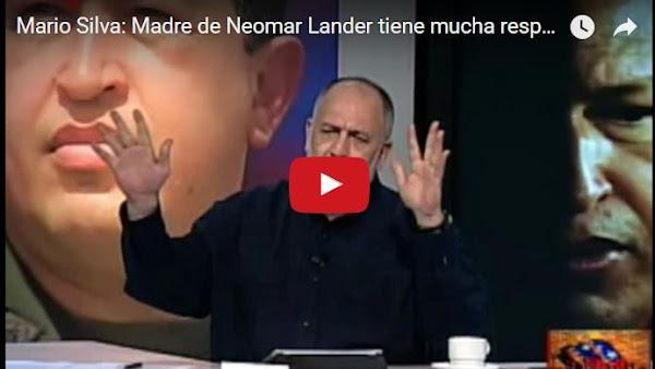 Mario Silva pide prisión para madre de Neomar por haberlo dejado manifestar