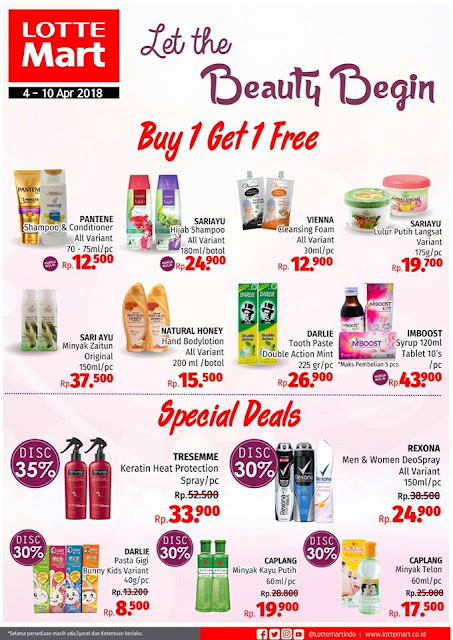 Promo Beauty mingguan