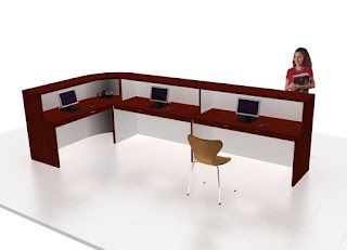 Furniture Kantor Semarang - Meja Customer Service Terbaru 2019