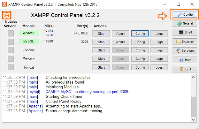 How To Change The XAMPP Server Port In Windows 10 | Apache Server Port 6