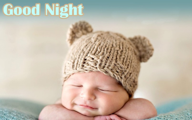 Cute Good Night Baby Images