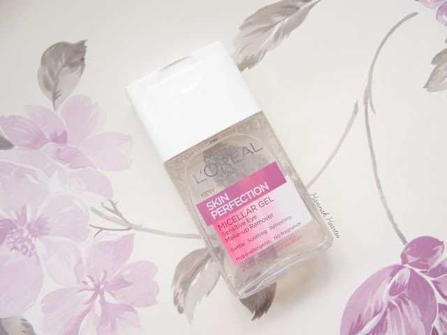L'Oreal Micellar Gel Sensitive Eye Make-up Remover Review