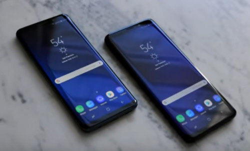 The Samsung Galaxy S9 And The S9 Plus